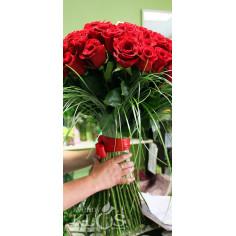 Velkokvěté růže 1,3,5 kusů